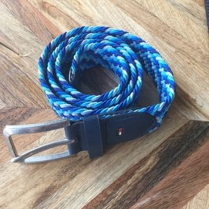 Tommy Hilfiger Blue Toned Belt LIKE NEW!